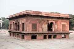 Zafar Mahal im roten Fort Stockbild