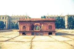 Zafar Mahal, Rood Fort, Delhi Royalty-vrije Stock Afbeelding