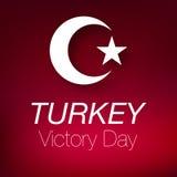 30 zafer bayrami zwycięstwa august dzień Turcja royalty ilustracja