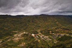 Zafimaniry Land Stockbild