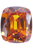 Zafiro amarillo Imagen de archivo