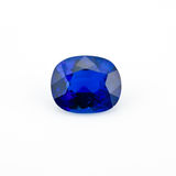 Zafiro azul Imágenes de archivo libres de regalías