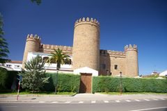 Zafra castle Stock Photos