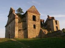 Zagórz monastery Stock Photo