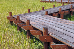 zag γεφυρών zig Στοκ φωτογραφία με δικαίωμα ελεύθερης χρήσης