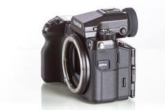 28 05 2017, Zagabria, CROAZIA: Fujifilm GFX 50S, 43 8 x 32 9mm 5 Immagine Stock