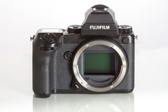 28 05 2017, Zagabria, CROAZIA: Fujifilm GFX 50S, 43 8 x 32 9mm 5 Fotografia Stock Libera da Diritti