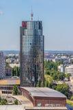 Zagabria, panorama Fotografia Stock