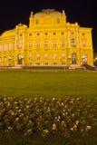 Zagabria - vecchio teatro fotografia stock libera da diritti