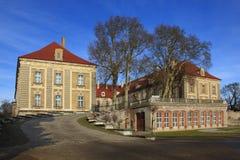 Zagan Palace. Baroque palace in Zagan at Poland royalty free stock photo