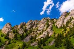 Zaganu Mountain. In Ciucas Massif, Romanian Carpathians Stock Image