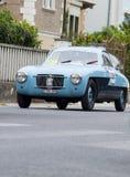 Zagato菲亚特1100 E Coupé 1952年 免版税库存照片