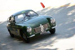 1952 Zagato Φίατ 1100 Ε Berlinetta στο Mille Miglia Στοκ φωτογραφίες με δικαίωμα ελεύθερης χρήσης