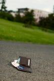 zaginiony portfel obraz royalty free