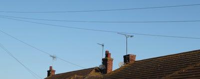 zagracenia dachu wierzchołek Fotografia Stock