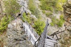 Zagrajden Ecotrail in Rhodopes mountain ,Bulgaria Royalty Free Stock Image