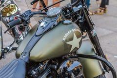 """ZAGREB, †da CROÁCIA """"o 14 de novembro 2016: Prototipe de Harley Davidson fotos de stock"""