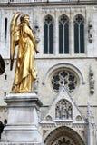 Zagreb ängel Royaltyfria Bilder