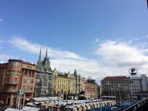 Zagreb stock image