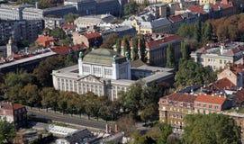 Zagreb. Croatian State Archives, Zagreb, Croatia Stock Images