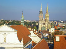 Zagreb Royalty Free Stock Photo
