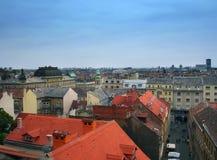 Zagreb Stock Afbeelding