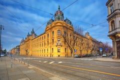 Zagreb stock foto