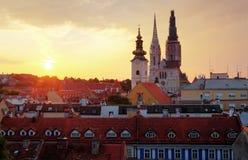 Zagreb stock afbeeldingen