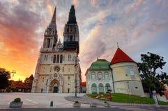 Zagreb foto de archivo