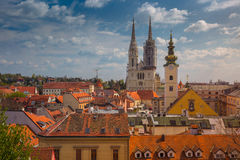 zagreb Photographie stock