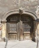 Zagreb ancient door Stock Photography