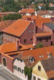 Zagreb architecture stock photo
