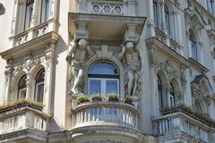 Zagreb architecture Stock Image