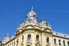Zagreb arkitektur Arkivbilder
