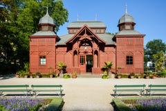 Zagreb botanical garden public pavilion Royalty Free Stock Photo