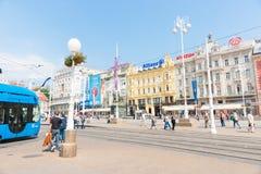 Zagreb, capital city, Croatia Stock Image