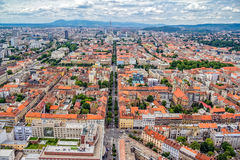 Zagreb aerial Stock Photography