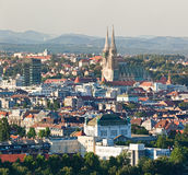 Zagreb cathedral Royalty Free Stock Image