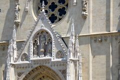Zagreb Cathedral Royalty Free Stock Photo