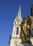 Zagreb cathedral Stock Images