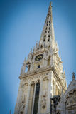 Zagreb cathedral Stock Image