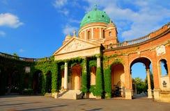 Zagreb cemetery - Mirogoj Royalty Free Stock Photo
