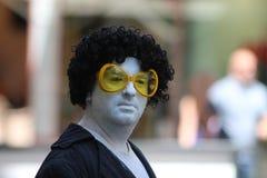Zagreb/Cest zijn Best/de Clown stock foto