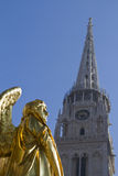 Zagreb chatedral Stock Photography