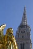 Zagreb chatedral Stockfotografie