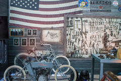 ZAGREB, CHORWACJA †'Listopad 14 2016: Harley Davidson prototipe Obraz Stock