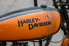 ZAGREB, CHORWACJA †'Listopad 14 2016: Harley Davidson prototipe Fotografia Stock