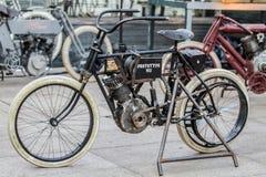 ZAGREB, CHORWACJA †'Listopad 14 2016: Harley Davidson prototipe Fotografia Royalty Free