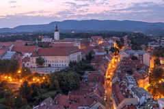 Zagreb, Chorwacja Obrazy Royalty Free