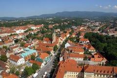 Zagreb, Chorwacja fotografia royalty free